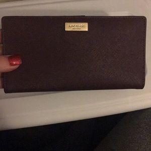 Handbags - Kate Spade Stacy wallet in Deep Plum